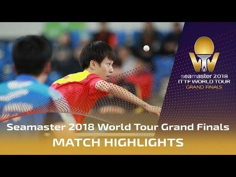 Lee Sangsu vs Lin Gaoyuan   2018 ITTF World Tour Grand Finals Highlights (R16)