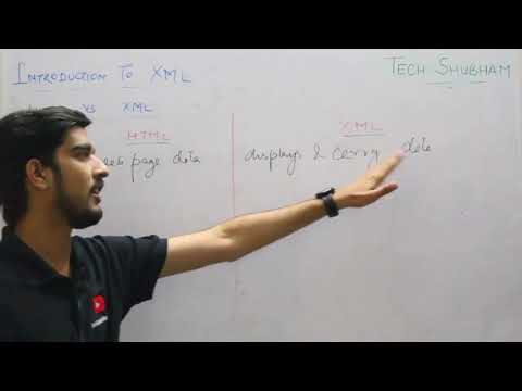 Introduction To XML And HTML VS XML For Class XII Information Practices By Tech Shubham