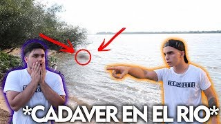 ENCONTRAMOS UN CAD4VER EN EL RIO * contenido no apto para menores*