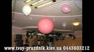 Оформление свадьбы воздушными шарами Киев(, 2013-12-02T19:17:09.000Z)
