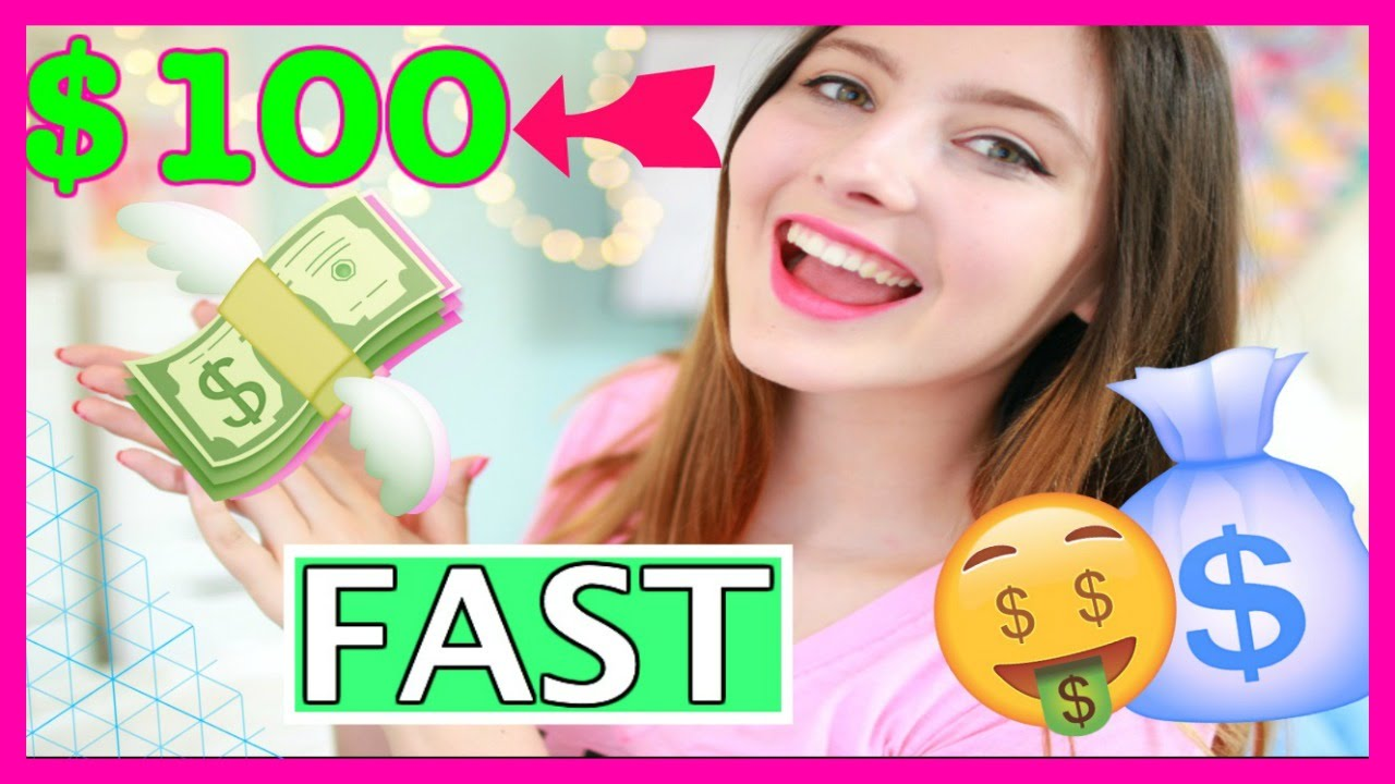 how to make 100 dollars fast as a kid