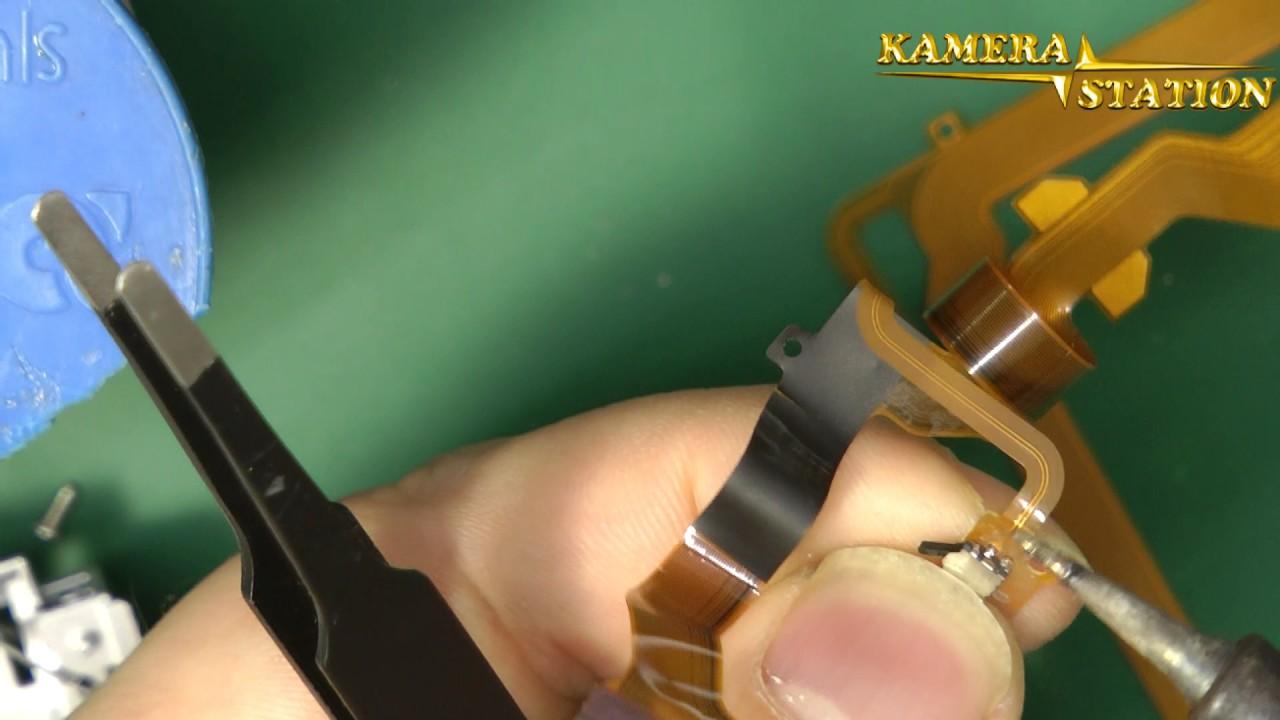 Panasonic Nv Gs6 Gs17 Display Defekt Austausch Kaputt Lcd Flex Kable Reparartur Kamera Station De Youtube