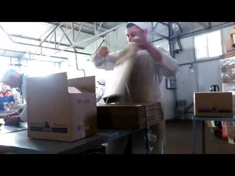 Ручная упаковка в картонные коробки