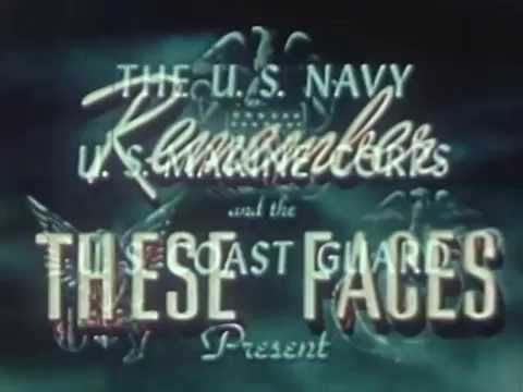 WWII Color Movie color footage pacific landings and casualty evacuation logistics