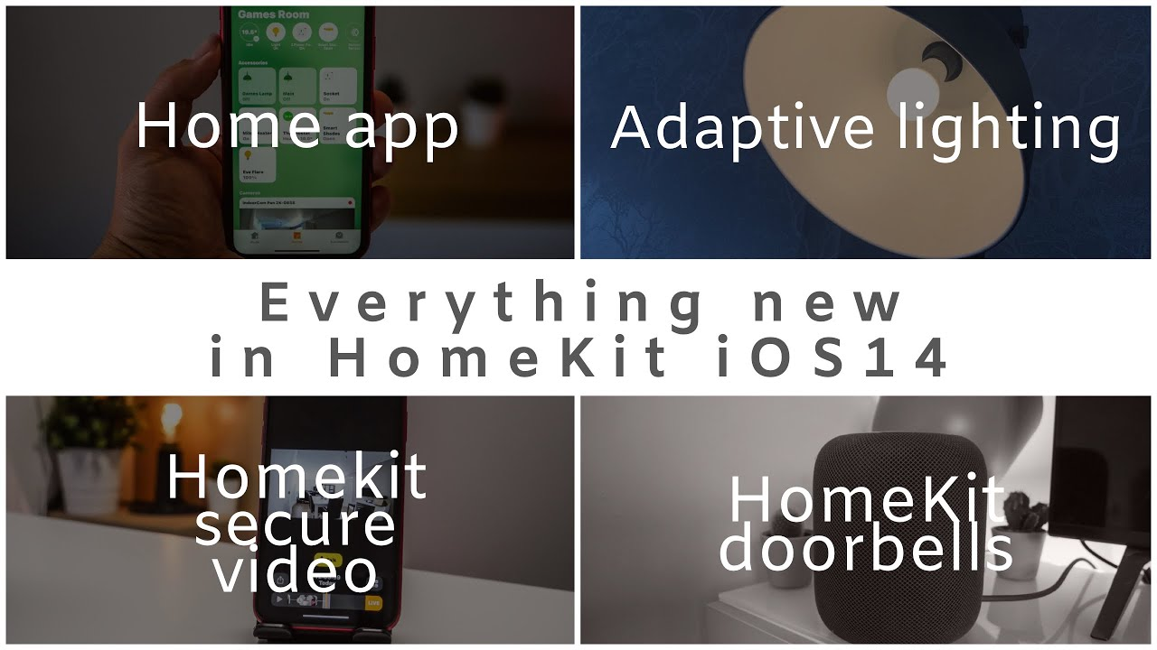 All that's new HomeKit in iOS 14  - Adaptive lighting, HomeKit Doorbells, Plus SwitchBot Give-away