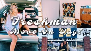 Freshman Move-In Vlog! University of Michigan