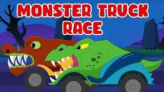 Rat-A-Tat |'Monster Truck Race Driving Crazy Mega Compilation'| Chotoonz Kids Funny Cartoon Videos