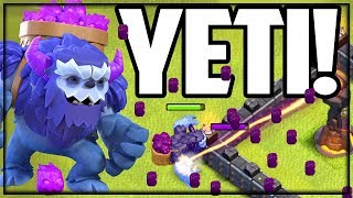 NEW TROOP! The YETI! Clash of Clans UPDATE Sneak Peek #4!