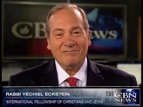 Rabbi Eckstein on CBN's The Watchman