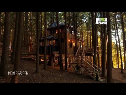 This Treehouse Will Make You Want To Live in the Woods - Pickler & Ben