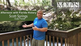 Afternoon with Florida History: Scott Springs - Ocala, Florida