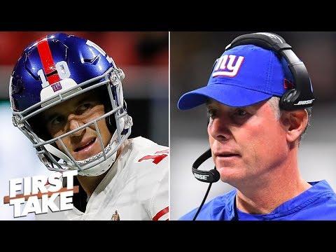 Eli Manning is the 'anti-quarterback,' Pat Shurmur is the 'anti-coach' - Max Kellerman | First Take