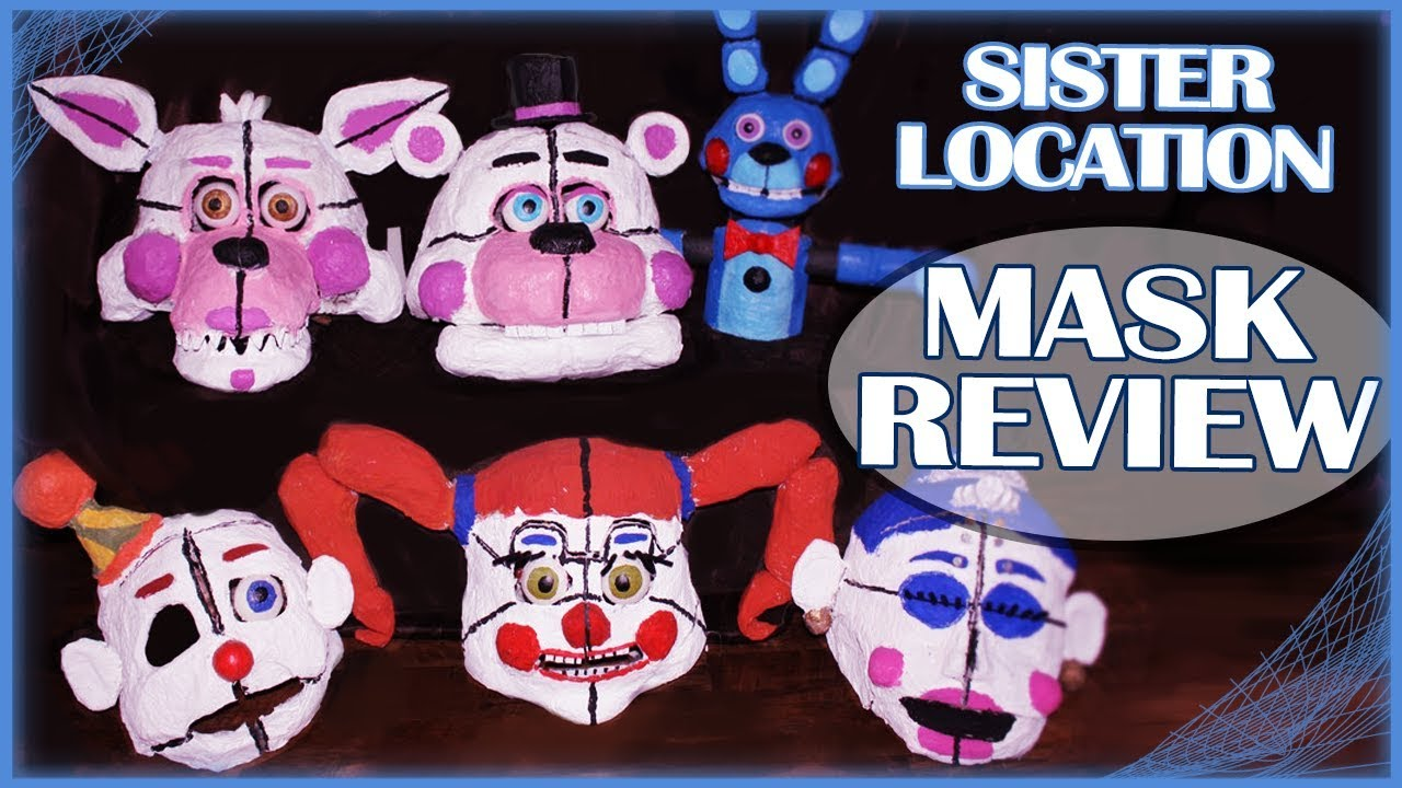 Sister Location Cosplay Masks Review