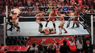 FULL-LENGTH MATCH - Raw - 10-Man Intercontinental Championship Battle Royal