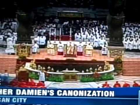 Canonization of Father Damien (part 7)
