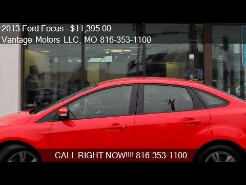 2017 Ford Focus Se New Tires Bluetooth One Owner Carfax Guar