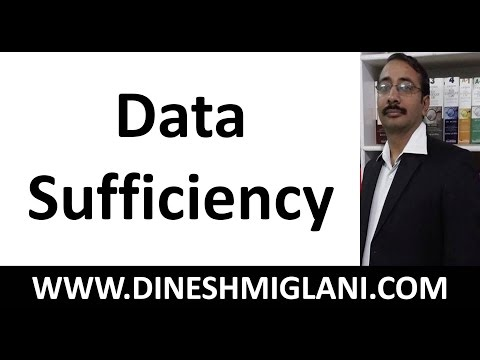 Data Sufficiency by Dinesh Miglani