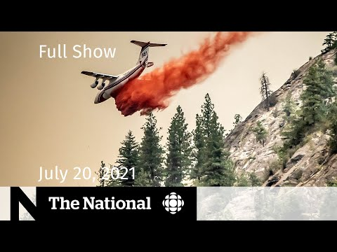 Download CBC News: The National | Canada's wildfire fight, Olympic worries, Bezos' space flight