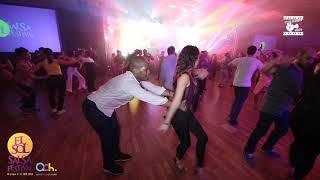 Guilherme & Laura - Salsa Social Dancing @ WARSAW SALSA FESTIVAL 2018