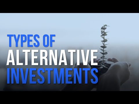 The Different Types of Alternative Investments