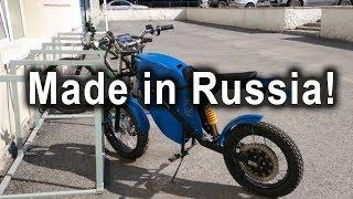 Российский Электроцикл XTRONIK M-2