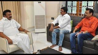 Minister Talasani Srinivas Yadav Meets Cine Celebrities