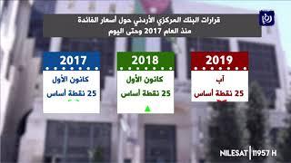 تعرف على تغير أسعار الفائدة منذ العام 2017 وحتى شهر ايلول 2019  -(19-9-2019)