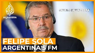 Argentina's FM: All Latin American democracies 'are in crisis' | Talk to Al Jazeera