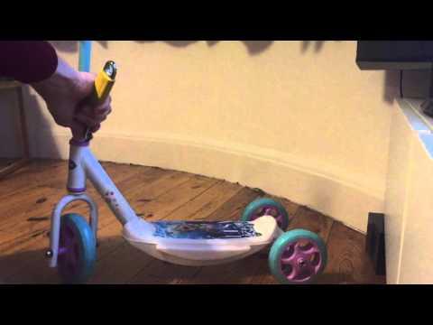 Elsa Frozen Scooter Build