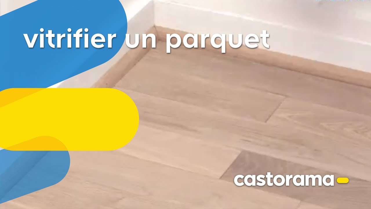 vitrifier un parquet castorama youtube. Black Bedroom Furniture Sets. Home Design Ideas
