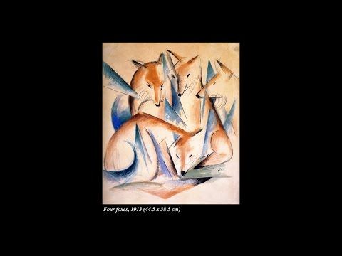 The Work of Franz Marc: Expressing the Being of Animals