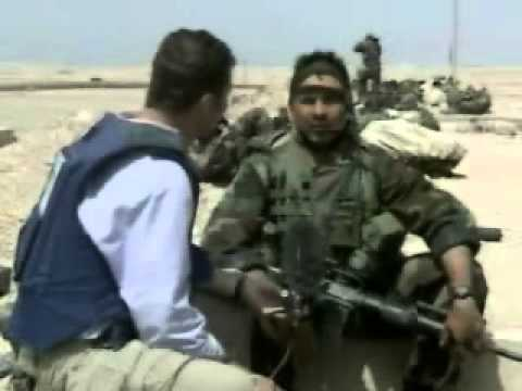 Fighting in Um Qasar March 2003