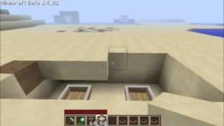 MineCraft Tutorials - #5 Quick Sand Trap