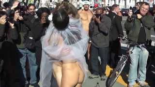 Nude Wedding at San Francisco City Hall