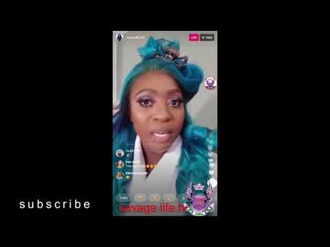 Spice InSta Live -Talk About Lazy People From Jamaica|Address Split With Dhq Danger