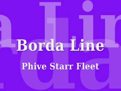 Borda Line Phive Starr Fleet