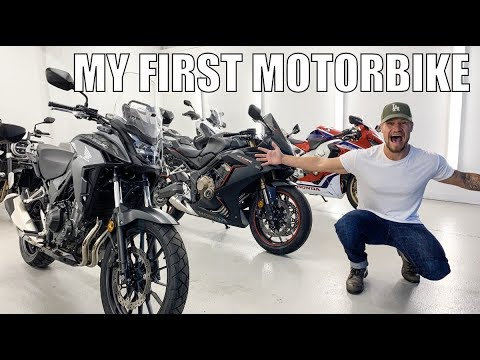 CHOOSING MY FIRST MOTORBIKE!!