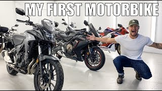 CHOOSING MY FIRST MOTORBIKE!!