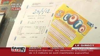 Loto : Les deux gagnants touchent le jackpot in extremis ! (Marcq-en-Baroeul)
