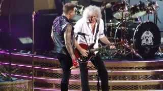 Queen + Adam Lambert CRAZY LITTLE THING CALLED LOVE Madison Square Garden NYC (New York)