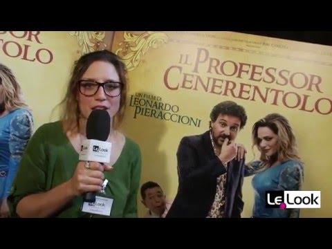 Il professor Cenerentolo - Le Look intervista i protagonisti e il regista Leonardo Pieraccioni