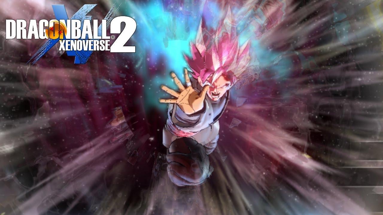 Goku Black Super Saiyan Rose Gameplay Dragon Ball Xenoverse 2 Mods