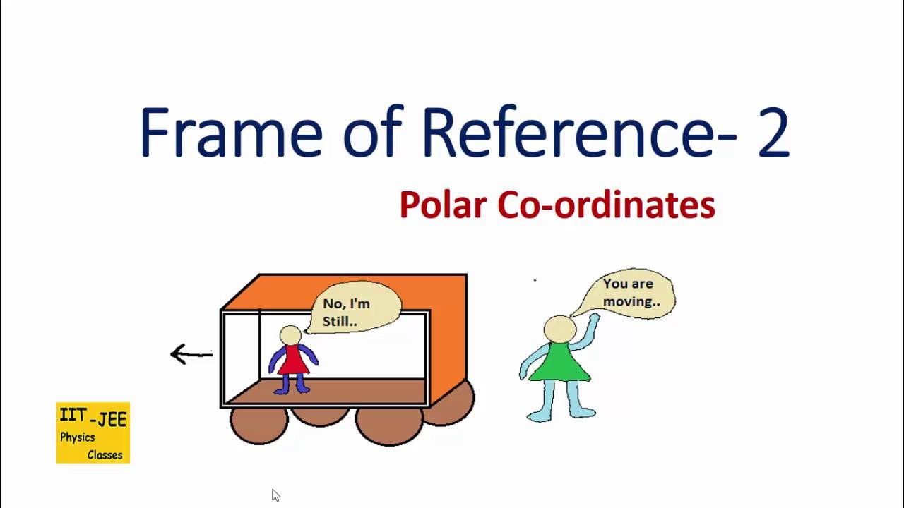Frame of Reference (Part-2) : Polar Coordinates, IIT-JEE physics ...