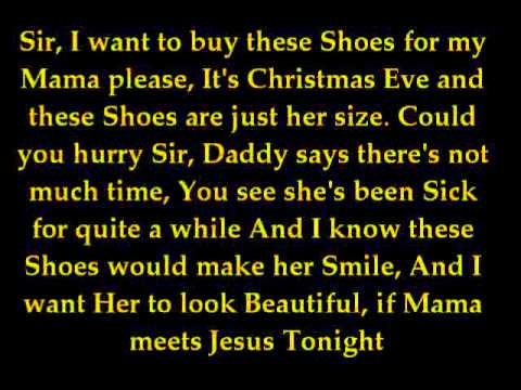 Christmas Shoes Lyrics.The Christmas Shoes Newsong Cover Version By Obsidiansnow Lyrics Video