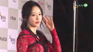 """[AJU TV] 한세아 레드카펫 동영상, 밧줄 묶고 팬티노출까지 """"작정한 의상?"""""""