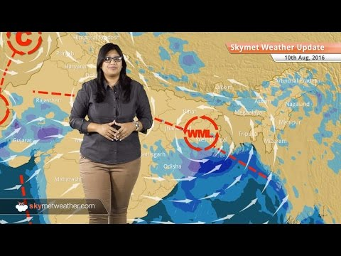 Weather Forecast for Aug 10: Heavy Monsoon rains in Rajasthan, MP, West Bengal, light rain in Delhi