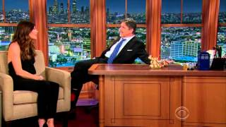 Craig Ferguson 21 November 2014 Cillian Murphy and Jennifer Carpenter