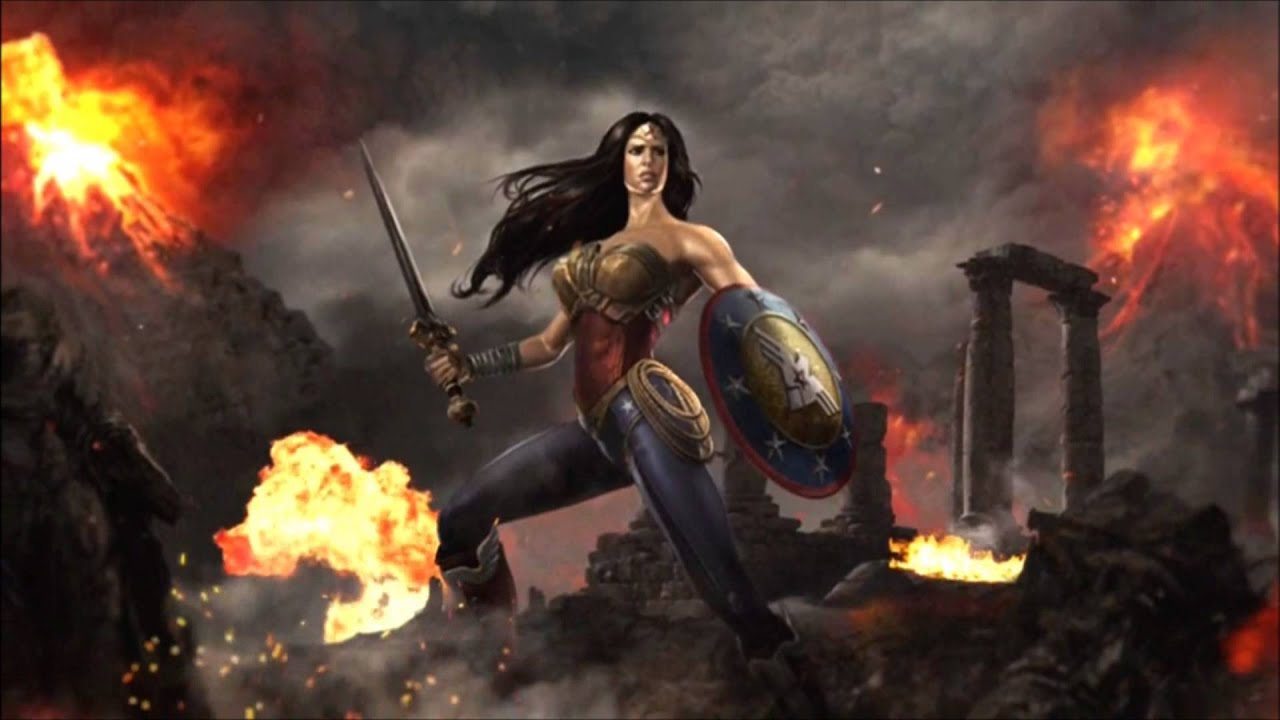 Injustice gods among us wonder womans ending youtube voltagebd Image collections
