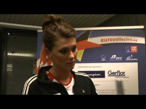 10.09.2013, Zurich: Flash-Interview Katarzyna Skowronska-Dolata (Opposite, Team Poland)