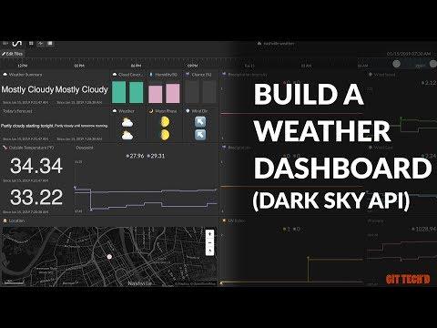 Build a Weather Dashboard Using Dark Sky API: 5 Steps (with